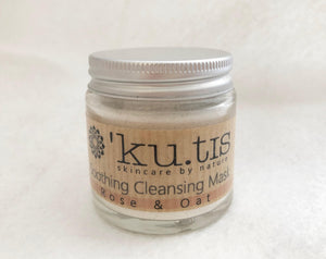 Rose & Oat Soothing Cleansing Mask 30g - Kutis Skincare