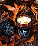 Orange Embers Natural Soy Wax Candle - Run With Wolves