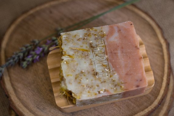 Wildflowers & Oats Handmade Natural Soap - Bean & Boy