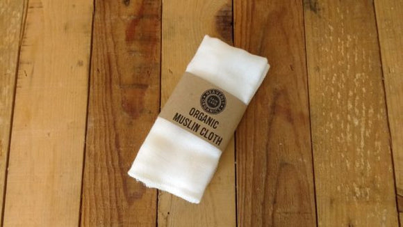 Organic Muslin Cloth - Heavenly Organics