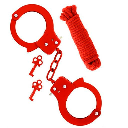 Nudiome - Kit Attache de bondage rouge Sex Extra