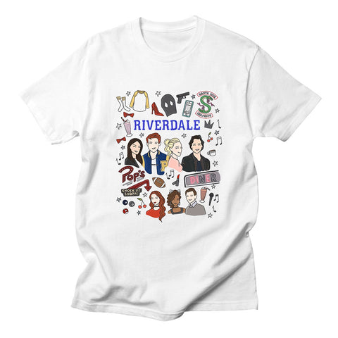 FREE Riverdale Theme T-Shirt