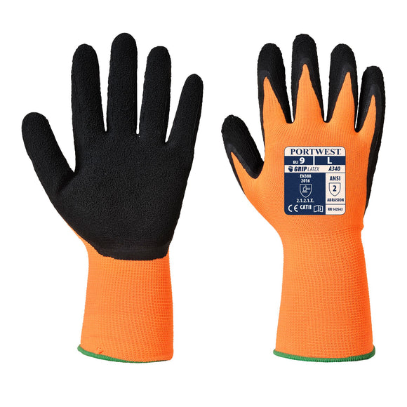 Guanti Grip Hi-Vis - Lattice,Portwest| Dpi Sicurezza
