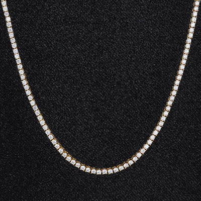 3mm Tennis Chain in 14K Gold