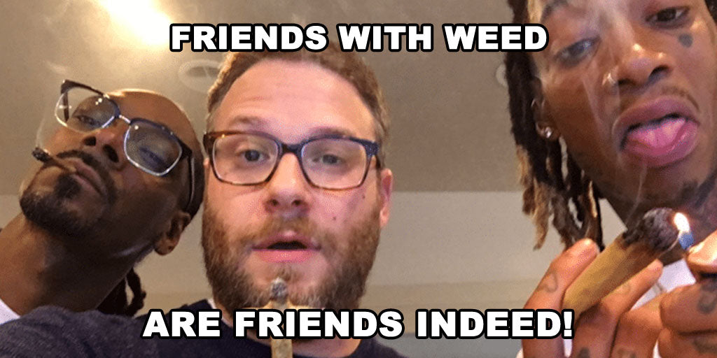 Friends with weed are friends indeed snoop dog seth rogan
