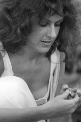 Grace Slick of Jefferson Airplane at Woodstock