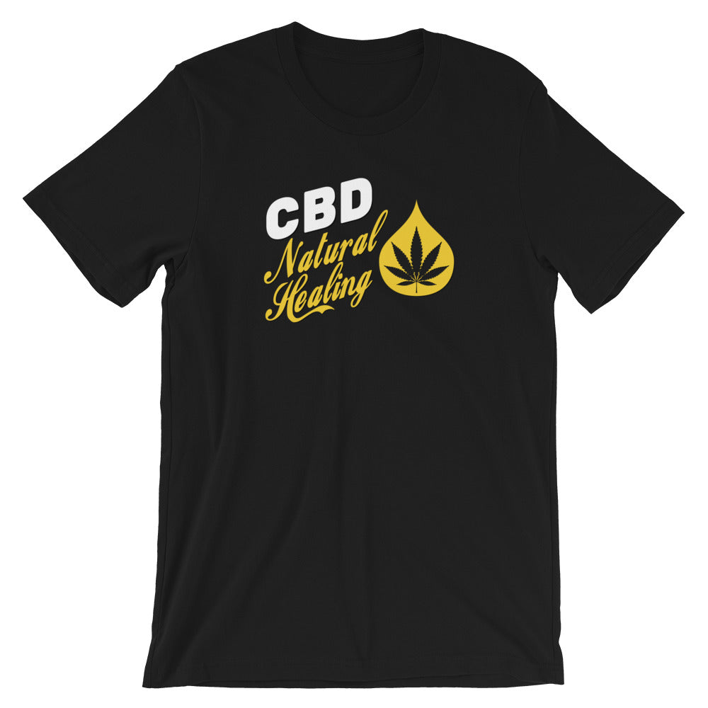 CBD Natural Healing T-Shirt - Magic Leaf Tees