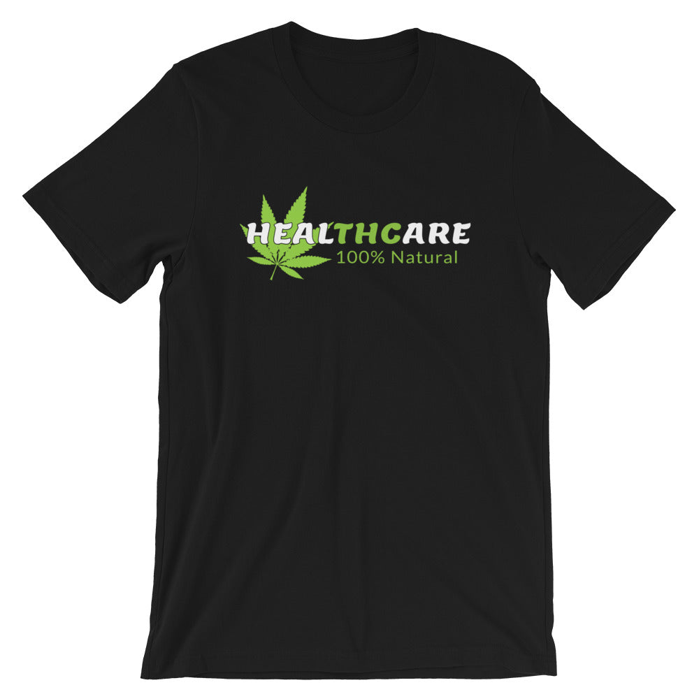 Heal-THC-are 100% Natural Cannabis T-Shirt - Magic Leaf Tees