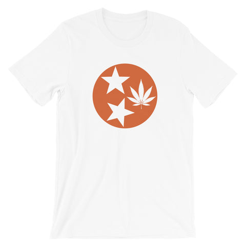 UT Vols Orange Cannabis Culture T-Shirt - Magic Leaf Tees