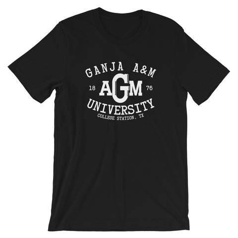 Ganja A&M University College Station 420 T-Shirt - Magic Leaf Tees