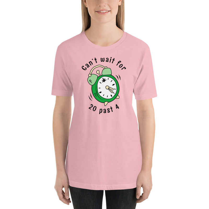 Can't Wait For 20 Past 4 Stoner T-Shirt - Magic Leaf Tees
