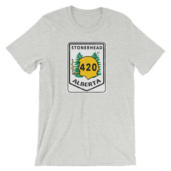 Alberta Stonerhead Highway 420 T-Shirt - Magic Leaf Tees