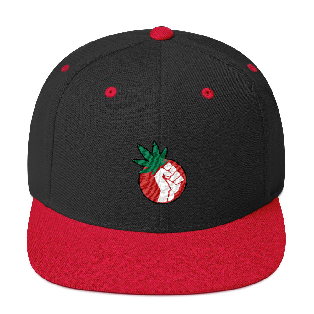 Free The Weed Legalize Marijuana Snapback Hat - Magic Leaf Tees