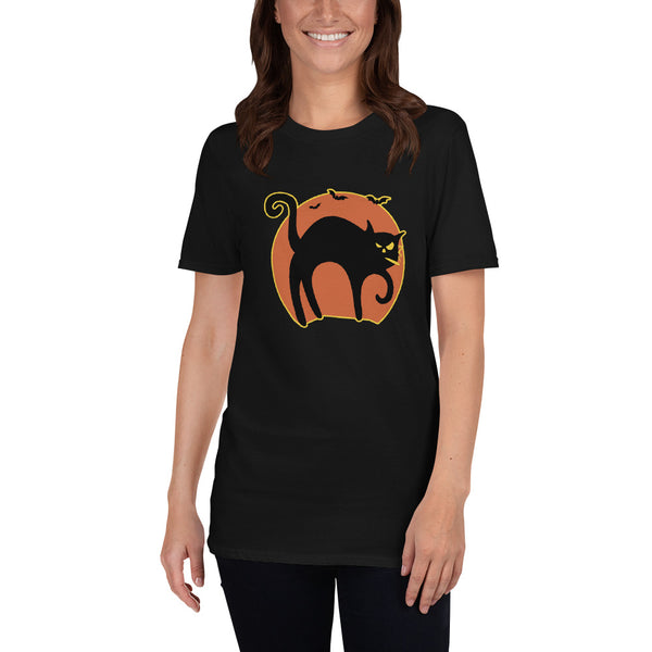 Halloween Stoner Cat T-Shirt - Magic Leaf Tees