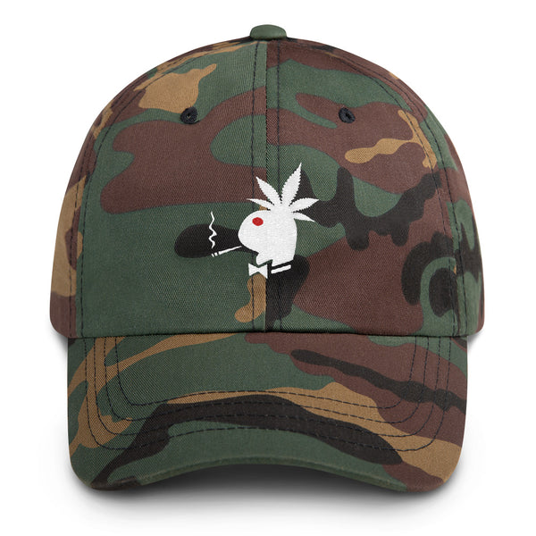 Canna-Bunny 420 Baseball Cap - Magic Leaf Tees