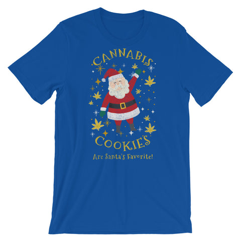 Cannabis Cookies Are Santa's Favorite T-Shirt - Magic Leaf Tees