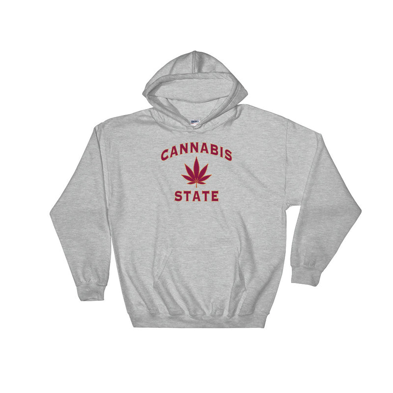 Cannabis State Weed Leaf Hoodie - Magic Leaf Tees