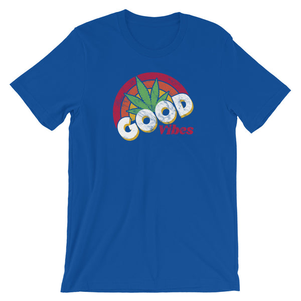 Good Vibes Sunshine Cannabis T-Shirt - Magic Leaf Tees