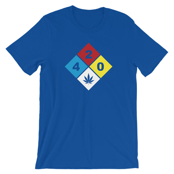 420 Hazard Cannabis T-Shirt - Magic Leaf Tees