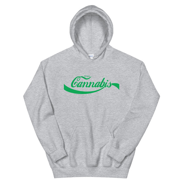 Enjoy Cannabis Stoner Hoodie - Magic Leaf Tees