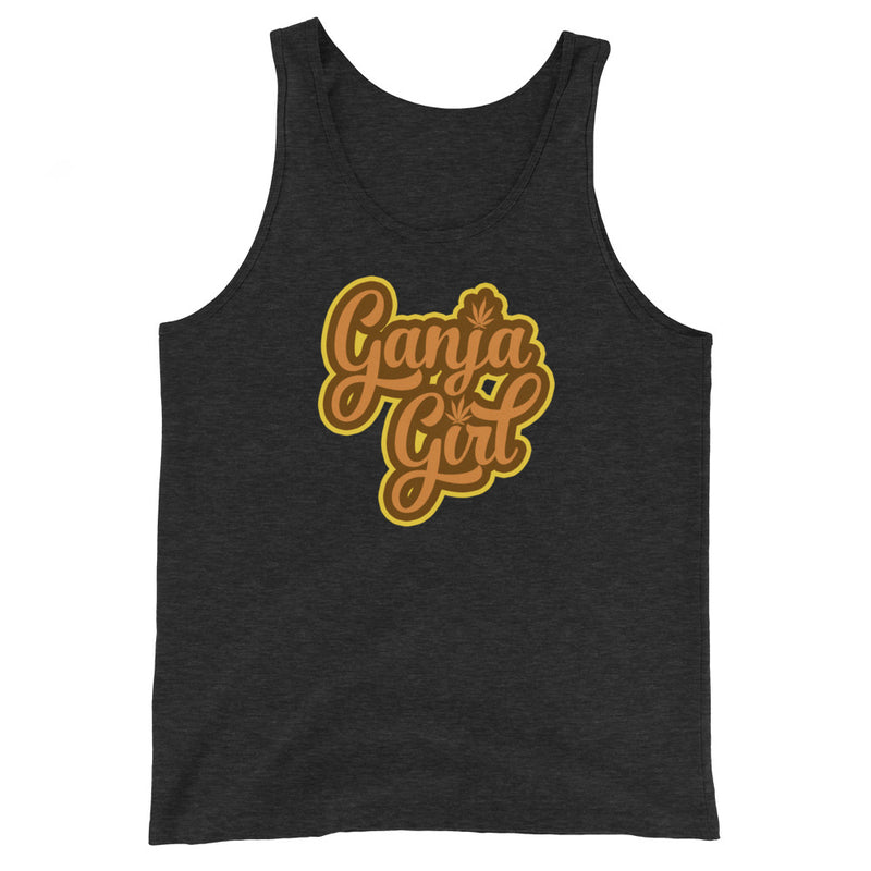 Ganja Girl Unisex Tank Top - Magic Leaf Tees