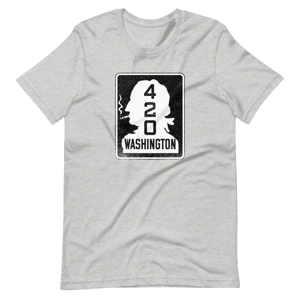 Vintage Washington State Highway 420 T-Shirt - Magic Leaf Tees