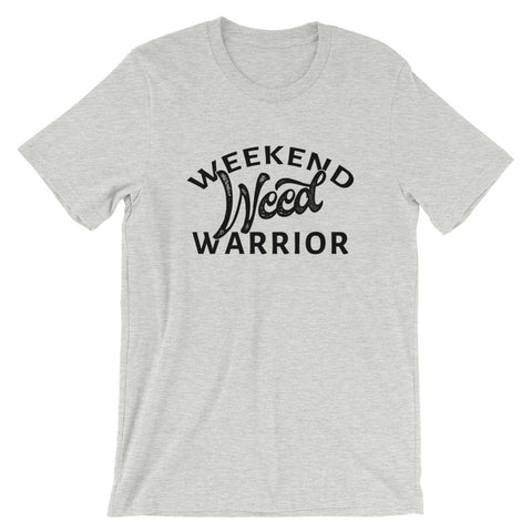 Weekend Weed Warrior 420 Short-Sleeve Unisex T-Shirt