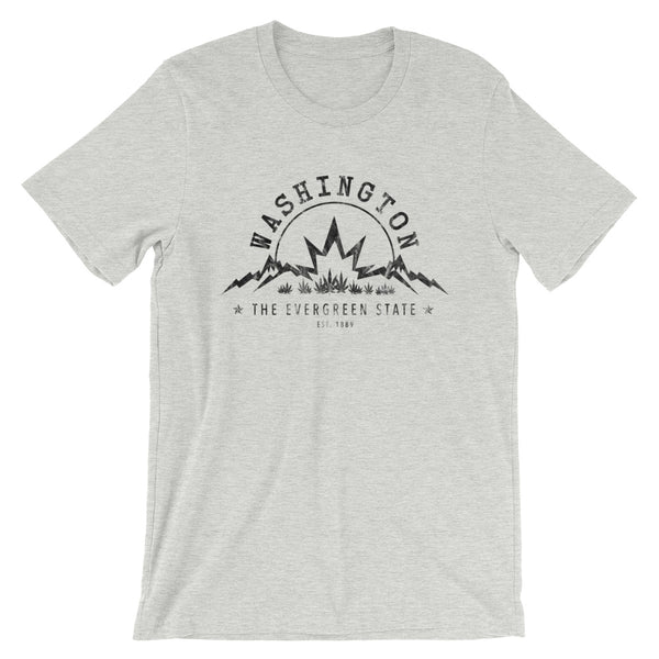 Washington The Evergreen State Cannabis T-Shirt - Magic Leaf Tees