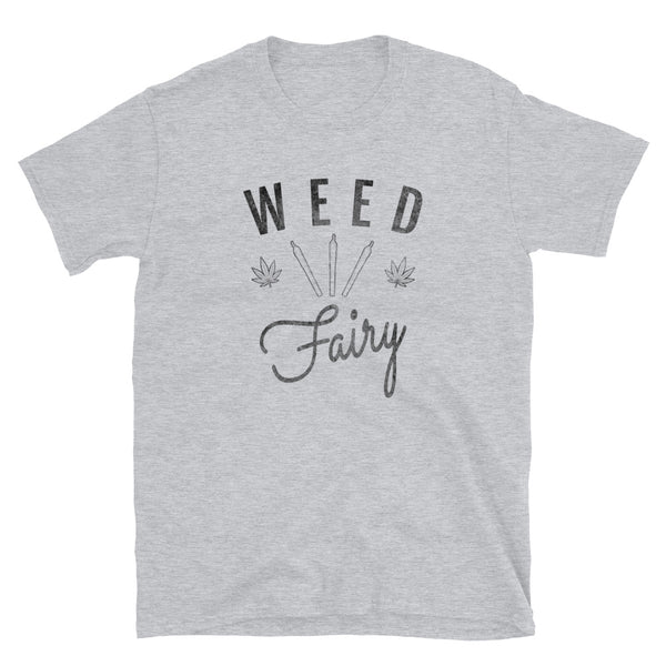 Weed Fairy Funny 420 T-Shirt - Magic Leaf Tees