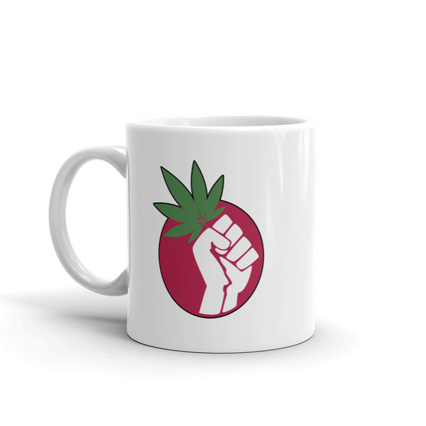 Free The Weed Marijuana Legalization Mug - Magic Leaf Tees