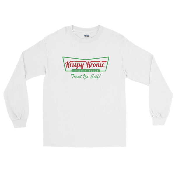 Krispy Kronic Funny Cannabis Long Sleeve T-Shirt - Magic Leaf Tees