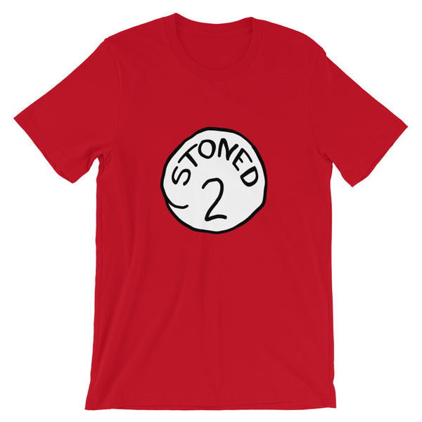 Stoned 2 Couples Weed T-Shirt - Magic Leaf Tees