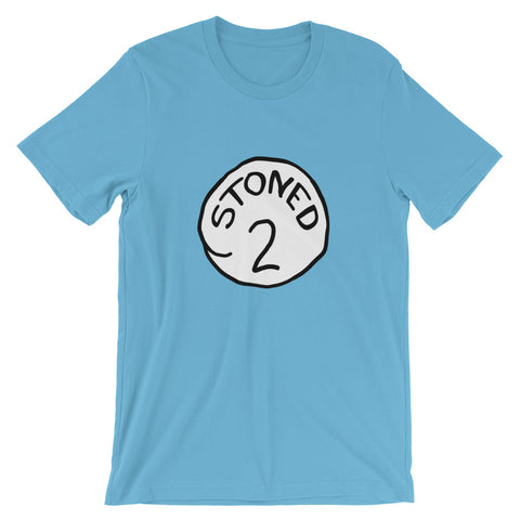 Stoned 2 Funny Weed T-Shirt - Magic Leaf Tees