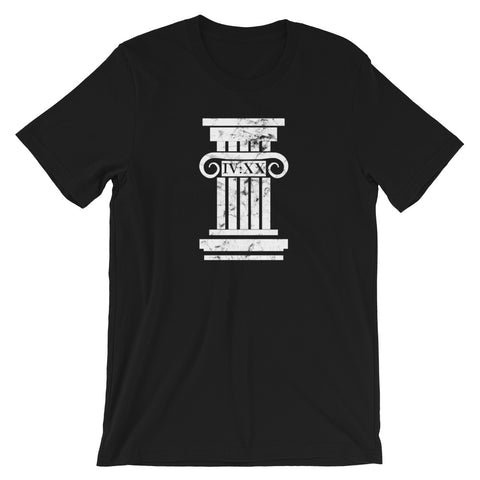 420 Roman Pedestal Graphic Cannabis T-Shirt - Magic Leaf Tees