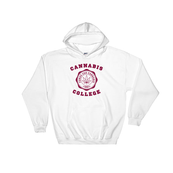 Hillman Cannabis College 420 Hoodie - Magic Leaf Tees