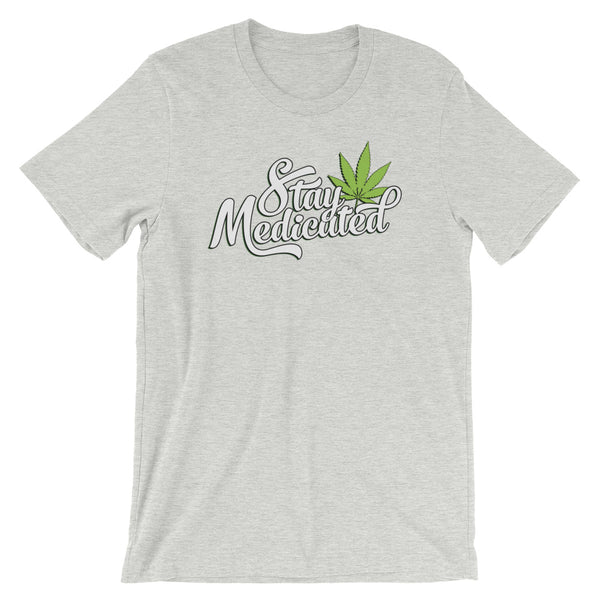Stay Medicated Cannabis T-Shirt - Magic Leaf Tees