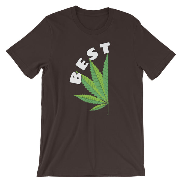 Couples Matching Best Buds Pot Leaf T-Shirt - Magic Leaf Tees