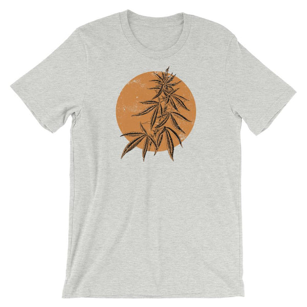 Zen Marijuana Bonsai T-Shirt - Magic Leaf Tees