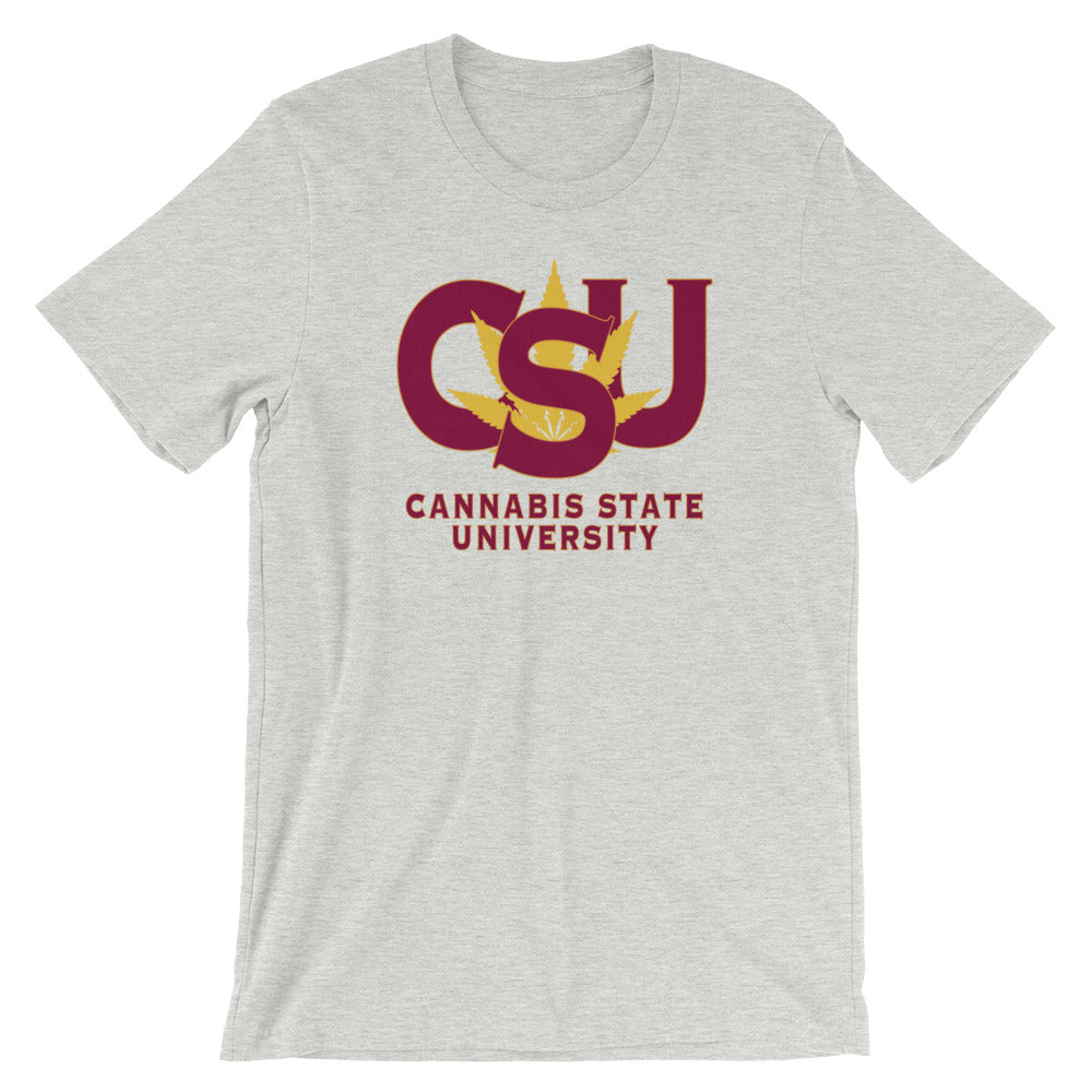 Cannabis State University T-Shirt - Magic Leaf Tees