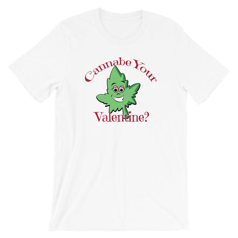 Cannabe Your Valentine Funny Marijuana T-Shirt - Magic Leaf Tees