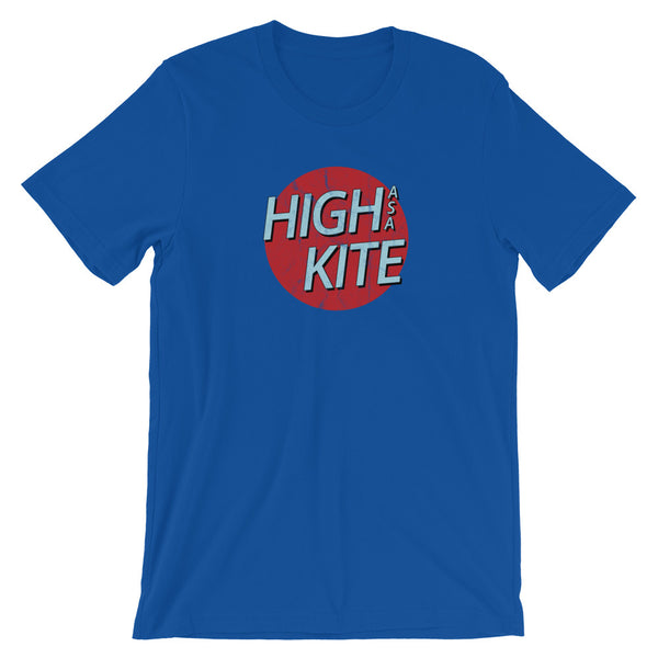High As A Kite Funny Stoner T-Shirt - Magic Leaf Tees