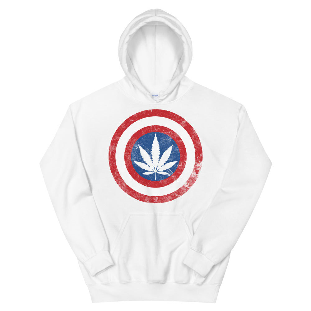 Kaptain Kronic Weed Leaf Hoodie - Magic Leaf Tees
