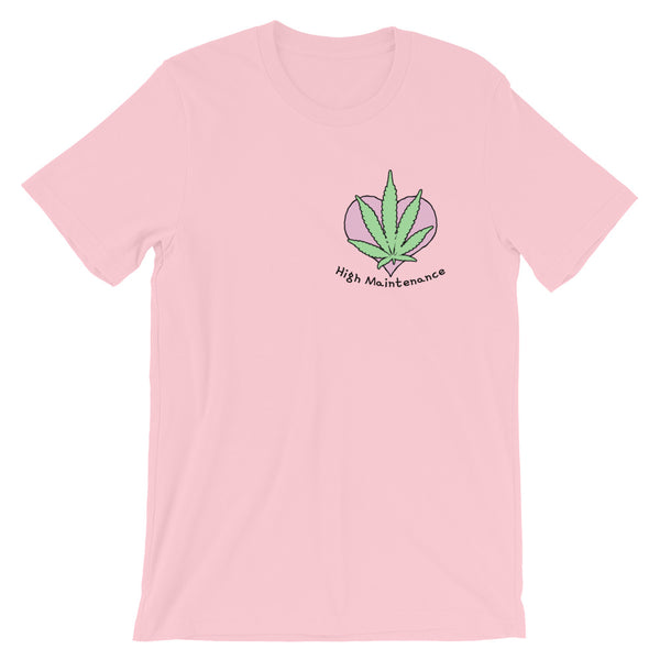 High Maintenance Cute Cannabis T-Shirt - Magic Leaf Tees