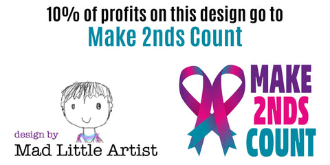 mad little artist and make 2nds count logos