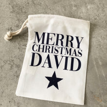 Load image into Gallery viewer, Reusable Christmas Gift Bags x4