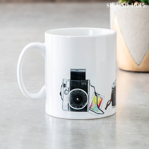 Vintage Camera Mug | 100% unique design