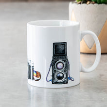 Load image into Gallery viewer, Vintage Camera Mug | 100% unique design