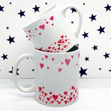 Load image into Gallery viewer, Watercolour Hearts Wrap Mug