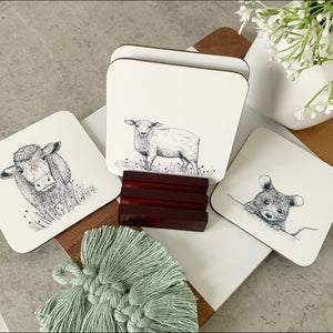 Coasters set of 4 Any Design