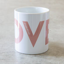 Load image into Gallery viewer, LOVE wedding mugs